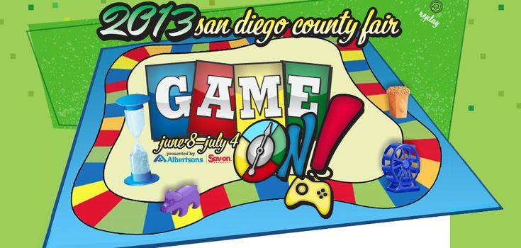 San Diego County Fair (Del Mar Fair) - June 8 to July 4