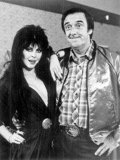 Cassandra Peterson and Jim Nabors