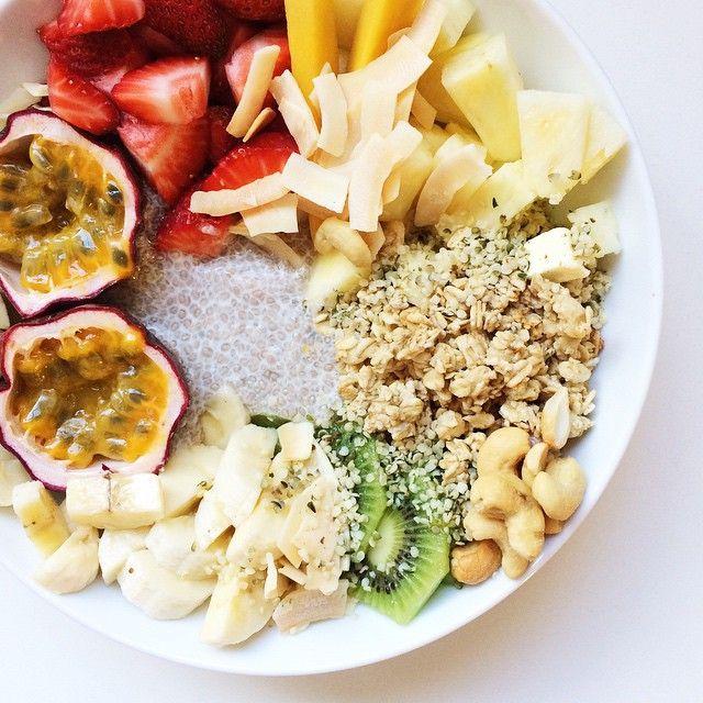 tropical bowl of paradise #breakfast #vegan