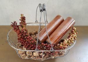 Artificial berry spray tak decoratie materiaal - 5251032000178 - Avantius