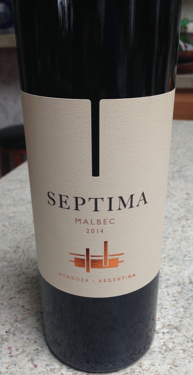 Malbec 2014 - Septima - I find this one great w food (robust flavor)