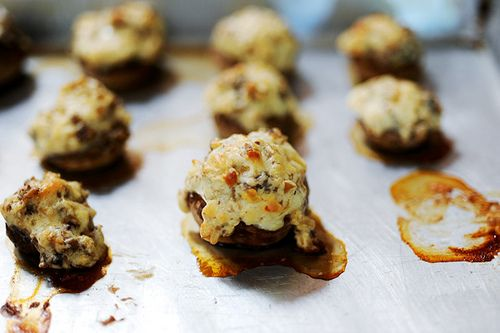 Stuffed mushrooms! These are absolutely amazing! SO GOOD!
