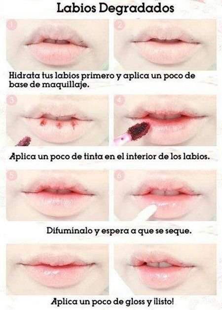 HOW TO DO A NATURAL OMBRE LIPS - #ombrelips #lips #lippies #natural #naturalombre #liptutorial - bellashoot.com