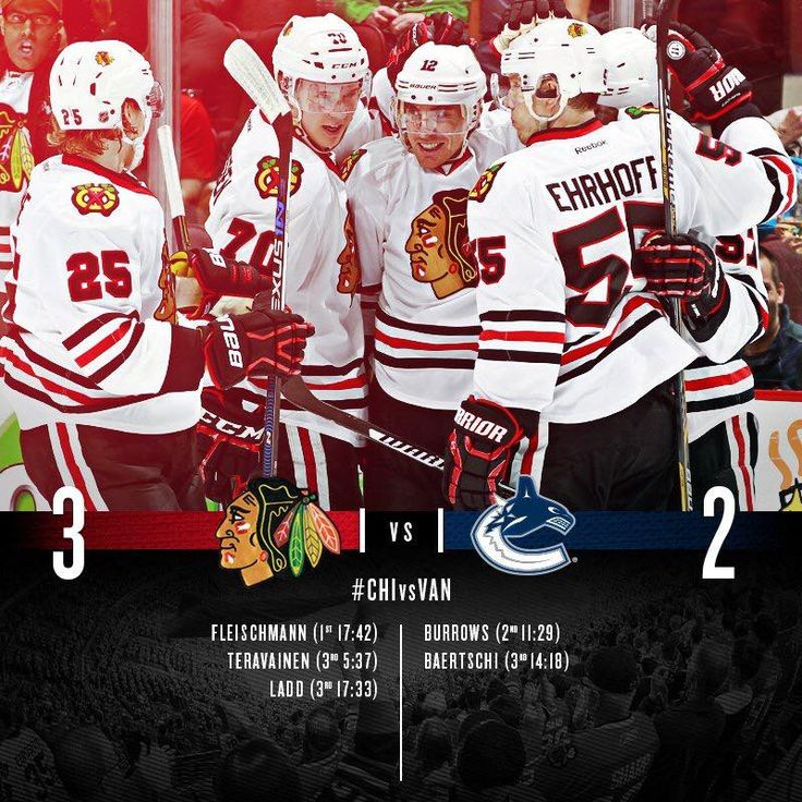 Blackhawks win and punch their ticket to the 2016 Stanley Cup Playoffs!