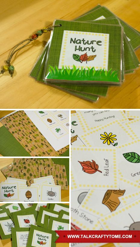 Nature Hunt from Talk Crafty to Me