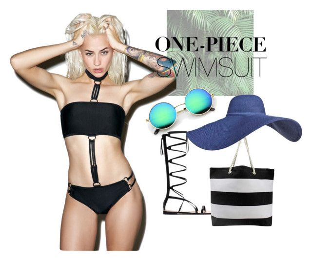 """""""One piece"""" by ginewwra on Polyvore featuring moda i Current Mood"""