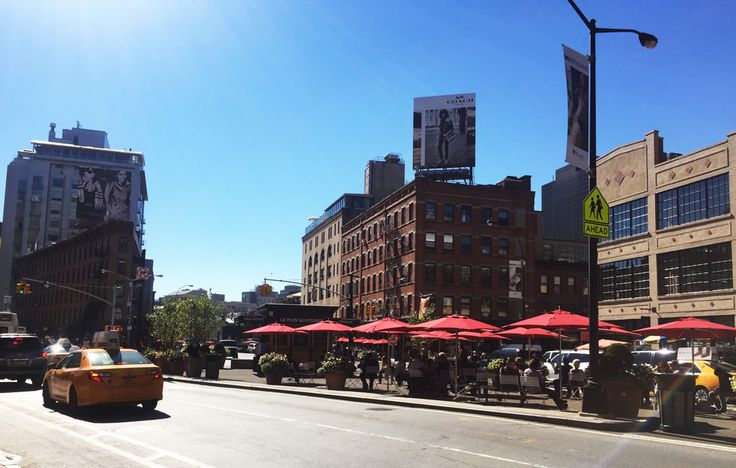 Meat Packing District, barrio tranquilo y con muchos restaurantes en New York. Cherrytomate viajes
