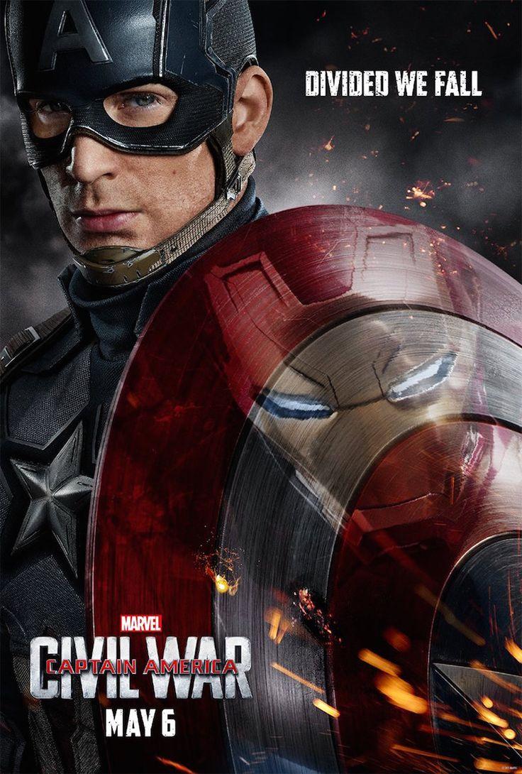 """""""Capitão América: Guerra Civil"""" ganha um primeiro teaser trailer completamente foda"""