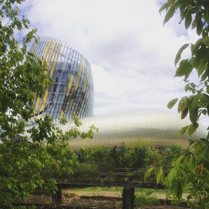 La cité du vin dans son écrin de verdure sur les rives de la Garonne, Bordeaux par Catherine B.