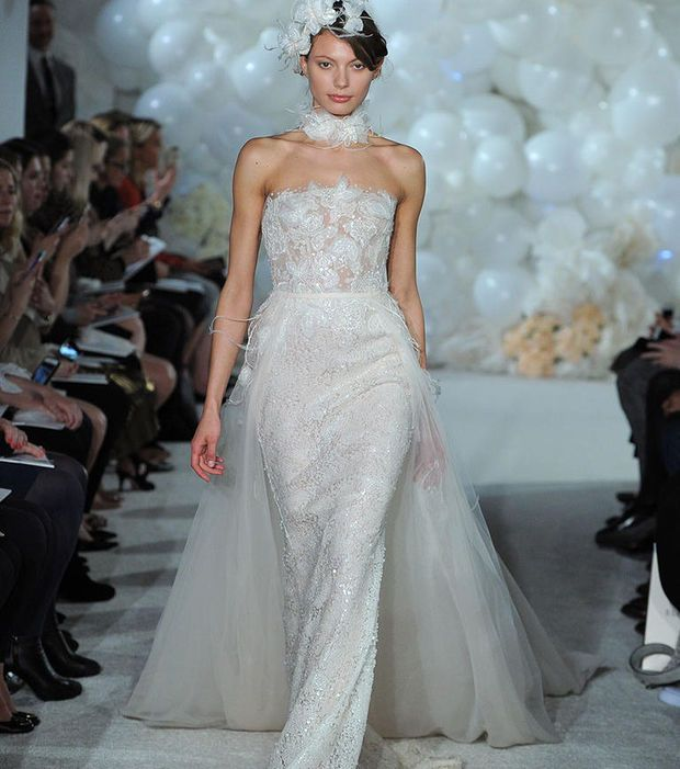 Robe de mariée 2018 - Robe avec jupon amovible, Mira Zwillinger