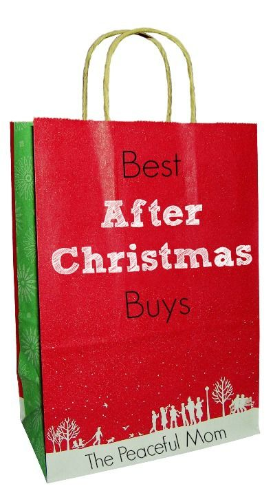 Best After Christmas Buys - ( 6 items to look for at the after Christmas sales!) The Peaceful Mom  #Christmas  #SaveMoney
