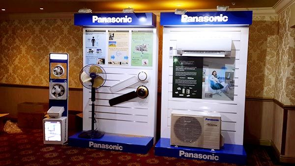 Panasonic Launch 2015 - Wall displays for air conditioning products.