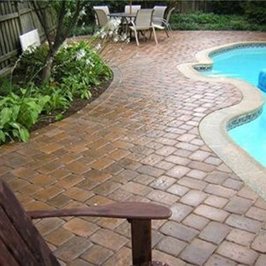 23 best images about paver ideas on pinterest for Best pavers for pool deck
