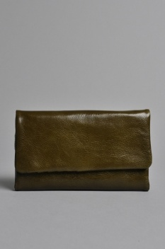 Status Anxiety Audrey Wallet Green