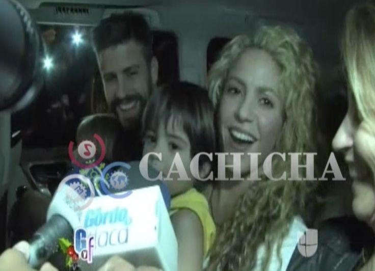 Shakira Lleva Por Primera Vez A Su Esposo Y A Sus Hijos A Colombia