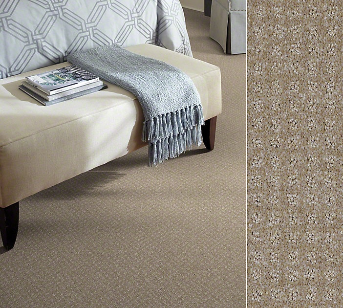 Shaw carpet in our ClearTouch Polyester made from recycled soda bottles. Style Watercolors Pattern in color Beach Bag.