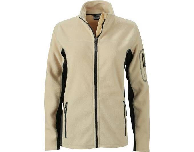 FaS50841 Workwear Microfleece Jacke Fleecejacke Damen Fleece