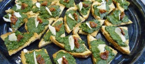 Pesto d'orties - Cuisine Sauvage ASBL