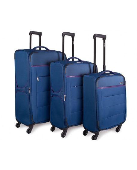 Set de 3 maletas rígidas.
