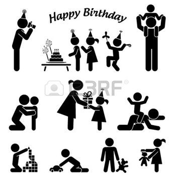 people icon birthday - Google zoeken