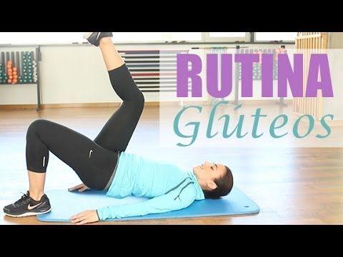 Rutina de ejercicios para trabajar los glúteos