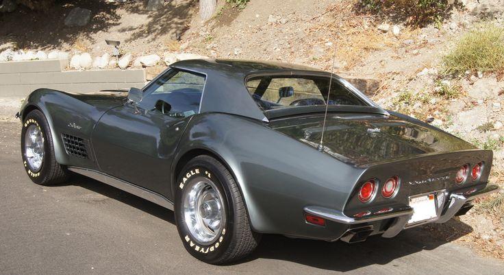 laguna grey C3 Corvette