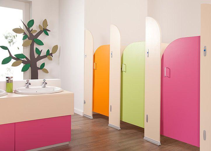 Infant toilet cubicles children 39 s washrooms cubicle for Child bathroom design