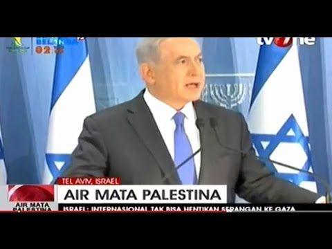 Serangan Sadis Israel PM Netanyahu Bersumpah Terus Perangi Palestina