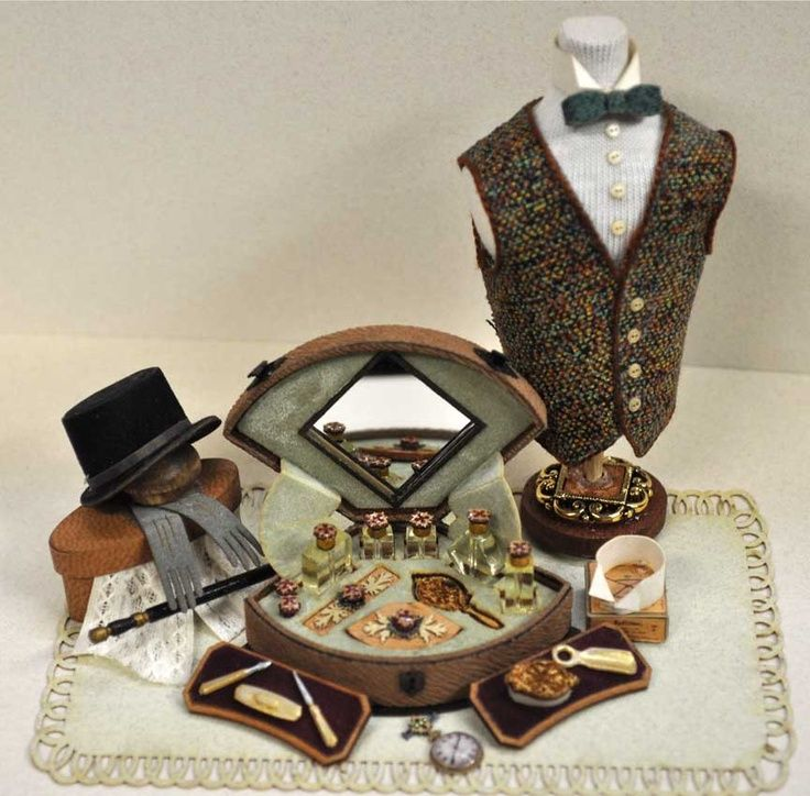 For the miniature gentleman ~ 1/12 scale...