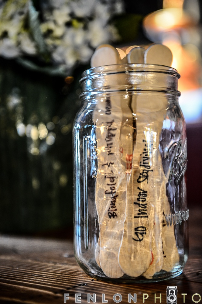 Wedding Rehearsal Dinner Gifts: I Asked Guests At Our Rehearsal Dinner To Write Down Date