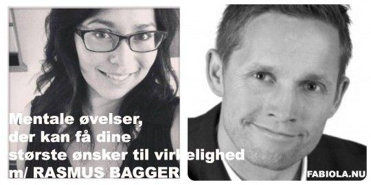 Rasmus Bagger giver mentale øvelser, der kan få dine største ønsker til virkelighed i denne episode af Fabiola SHARE