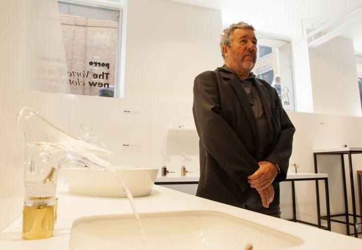 Axor Starck V #Axor #StarckV #PhilippeStarck #Design #Milanodesignweek #Fuorisalone #Viaduriniquindici