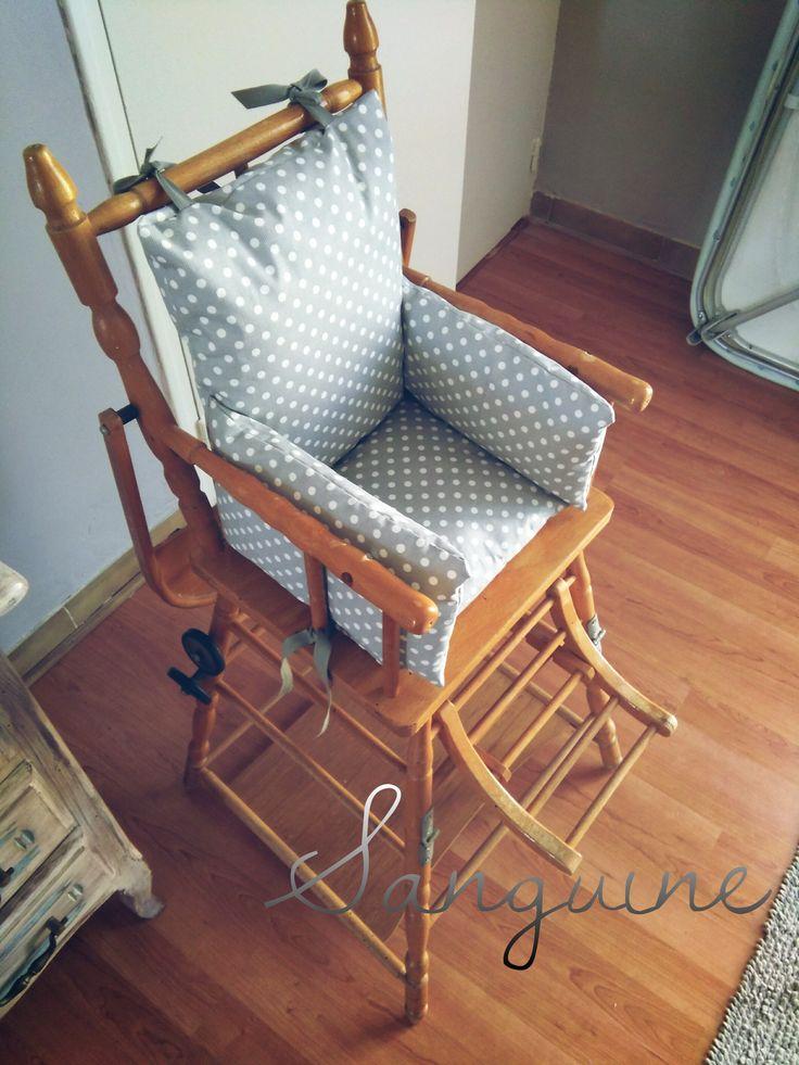 Les 25 meilleures id es de la cat gorie coussin chaise haute sur pinterest - Coussin haute couture ...