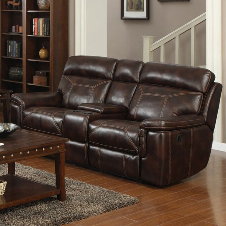 Delightful Lucy Power Reclining Console Loveseat | Weekends Only Furniture And Mattress