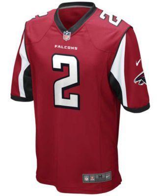 Nike Men's Matt Ryan Atlanta Falcons Game Jersey - Red M