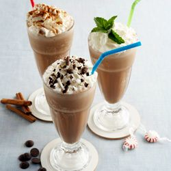 that's famous for its delicious, high-calorie Frozen Hot Chocolate ...