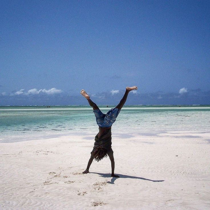 Fun on the beach!  Watamu Kenya.