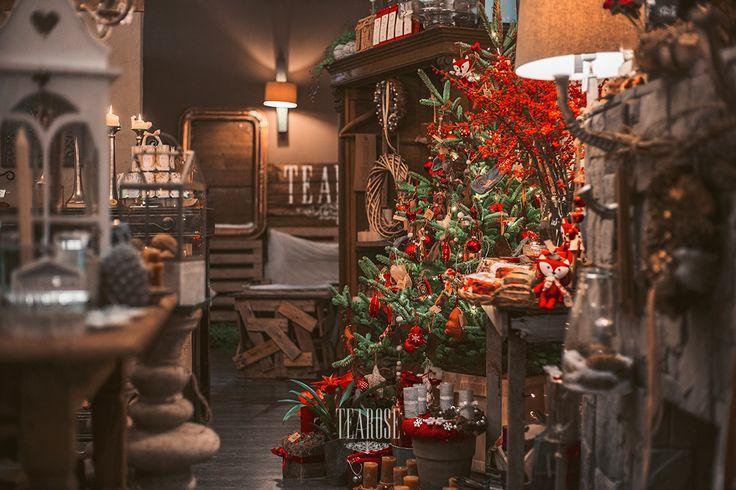 Karácsonyi pirosban