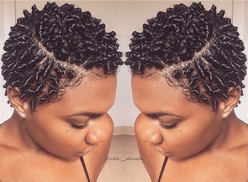 Defined Finger Coils on a TWA IG:@rikki_danielle #naturalhairmag
