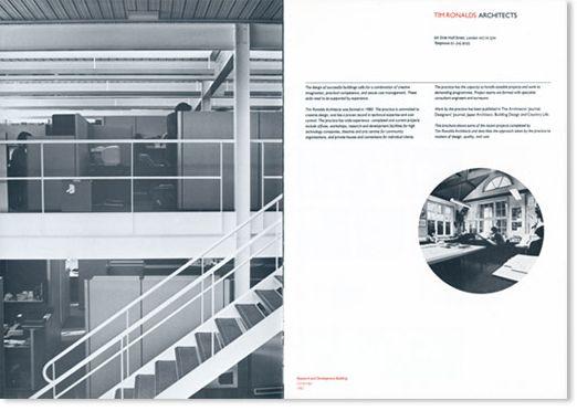 Richard Hollis - Tim Ronalds Architects
