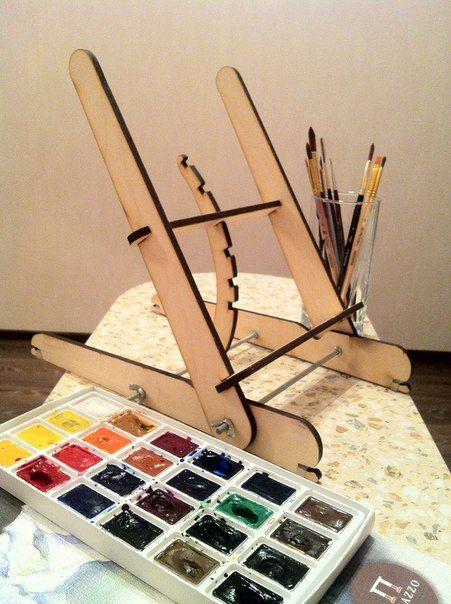 Мольберт Леонардо - частичка творчества