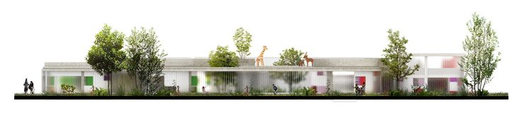 Галерея FP Архитектуры, первое место в конкурсе учебных Сред XXI века: Детский Сад, Tibabuyes - 22