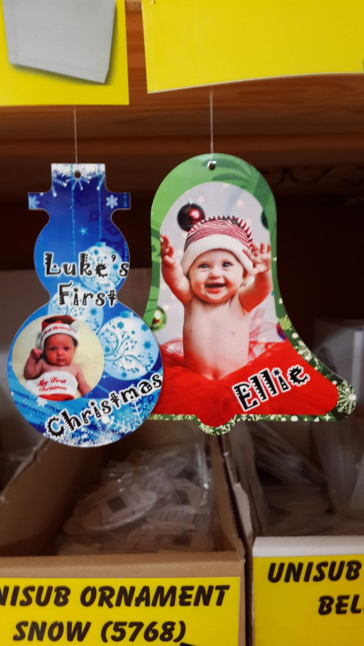Personalise your Christmas decorations
