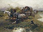 Józef #Brandt |  | oil, canvas | 59.7 x 84 cm