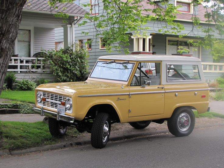 Ford Bronco Sports Utility Vehicles