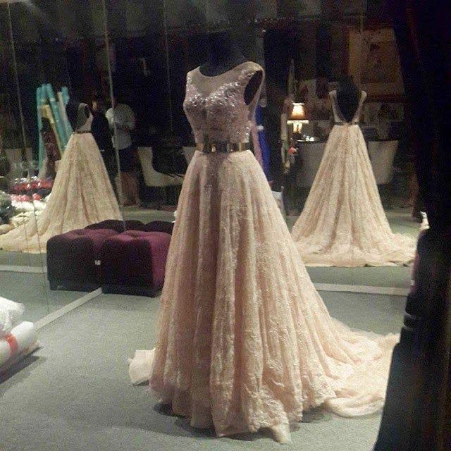 Long Dress Pesta Ivan Gunawan