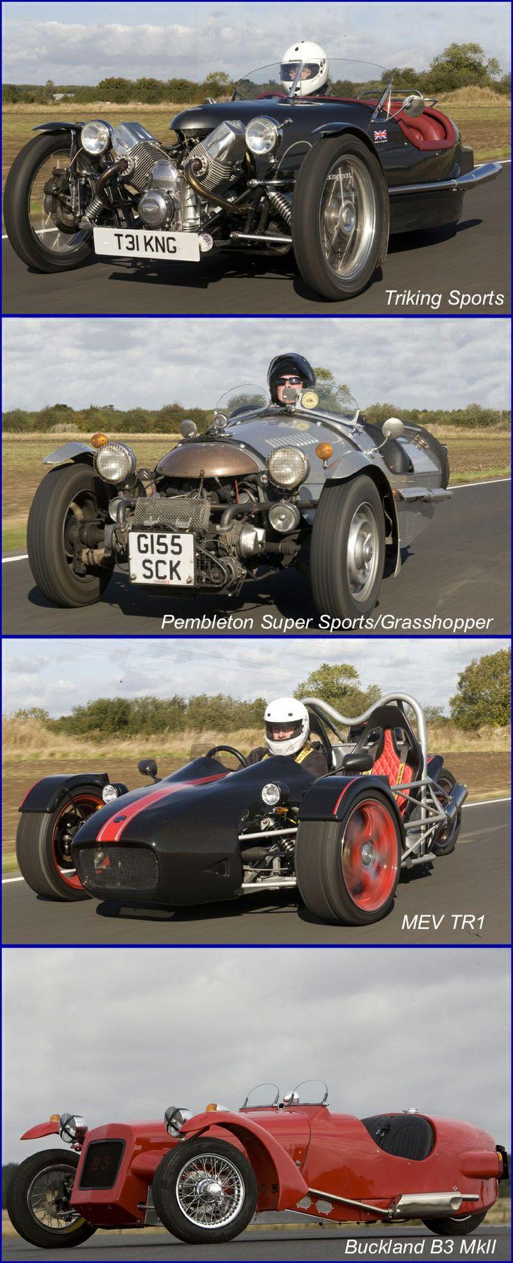 High Performance British Three Wheelers