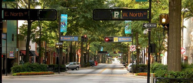 Some of the best restaurants in Greenville, South Carolina.
