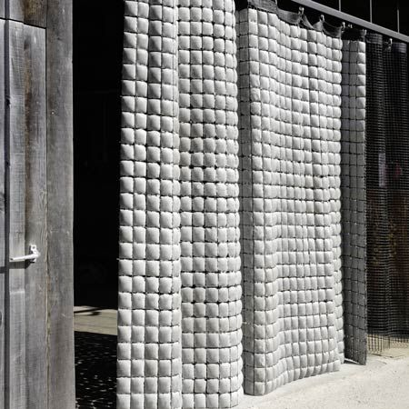 Betonvorhang, a concrete curtain by design company Memux (above), is one of 676 industrial products awarded in the Red Dot Awards 2008, which have just been announced. The list of winners is huge, so best you visit the Red Dot website for more info as our heads are hurting just looking at it all.