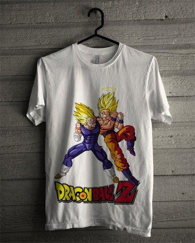 Kaos Dragon Ball Vegeta Goku - BikinKaosSatuan